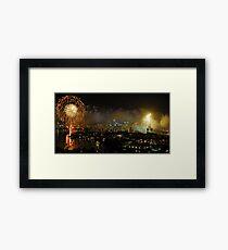NYE Sydney Framed Print