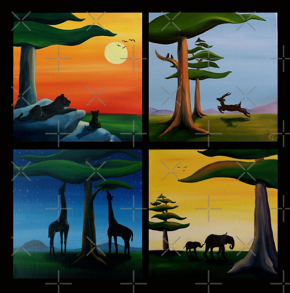 Four Squares by Sarah  Mac