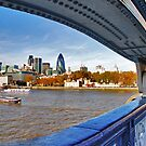 A view from the Tower Bridge by Adri  Padmos