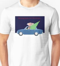Driving Home for Christmas Unisex T-Shirt