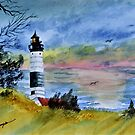 Big Sable Point Lighthouse  by Warren  Thompson