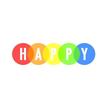 Happy Color Circles by lukassfr