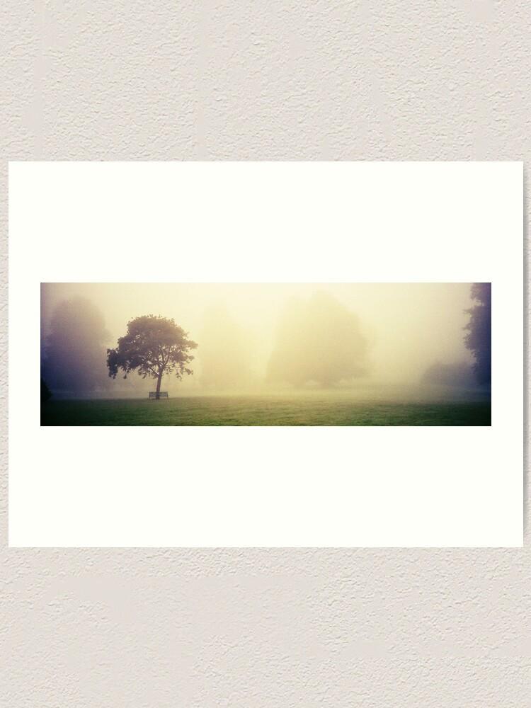 Alternate view of Kilkenny Fog Art Print