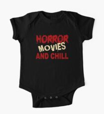 HORROR FILME UND CHILL Baby Body Kurzarm