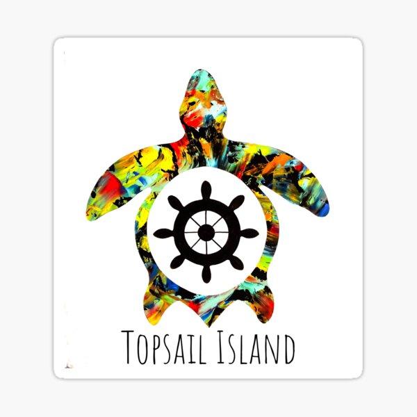 Topsail Island NC Sticker