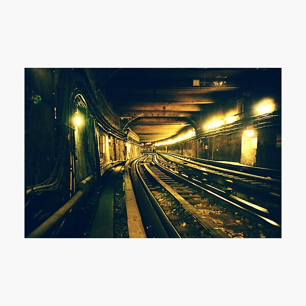 Abbesses Metro tunnel Photographic Print