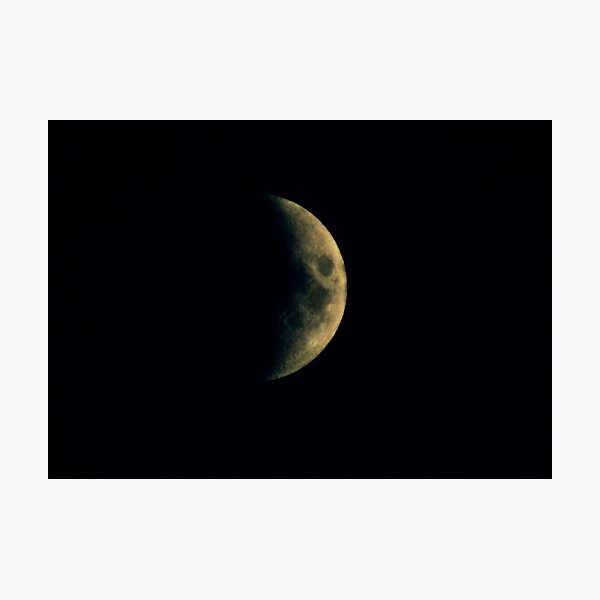 September Moon Photographic Print