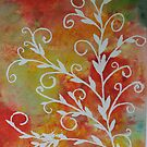 Fall Branches in Watercolour by Brooke Simpson