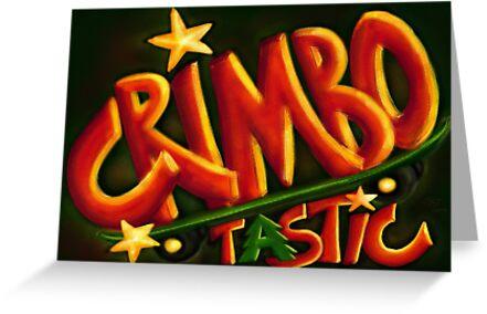 Crimbotastic Christmas Card by Sybille Sterk