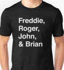 Königin-Formation Slim Fit T-Shirt