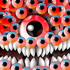 Eyeball Monster by fakeface