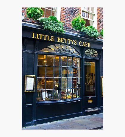 Little Betty's Cafe Photographic Print