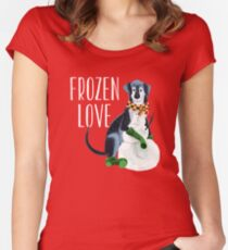 Frozen love Women's Fitted Scoop T-Shirt