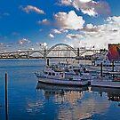 Yaquina Bay, Newport, Oregon by Bryan D. Spellman