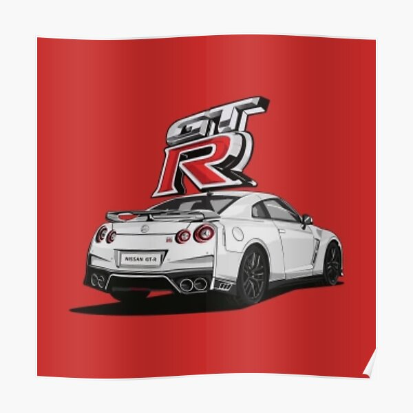 The amazing R35 GTR Poster
