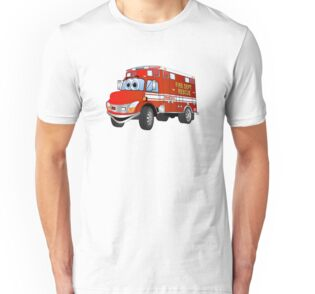 Fire Rescue Truck Cartoon
