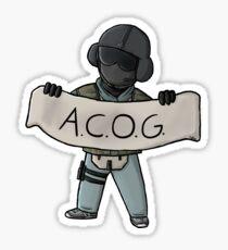 Jäger wants his ACOG back Sticker