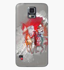 poloplayer grey abstract Hülle & Skin für Samsung Galaxy