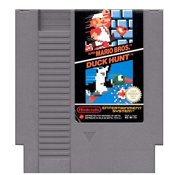 NES Cartridge - Super Mario Bros. And Duck Hunt by Free2rocknroll