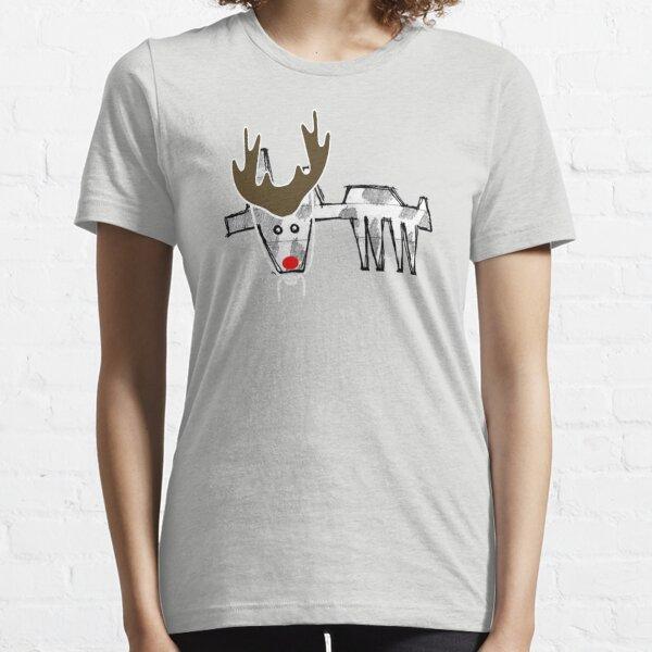 moo cow reindeer costume Essential T-Shirt