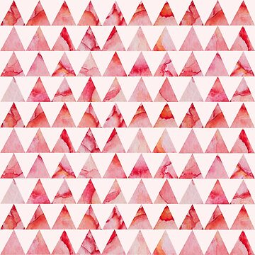 Watercolor triangles pattern by Lidiebug