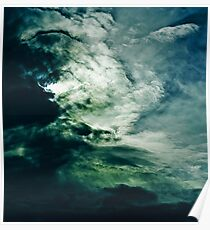 Wild Clouds Poster