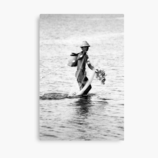 Balinese Fisherman Canvas Print