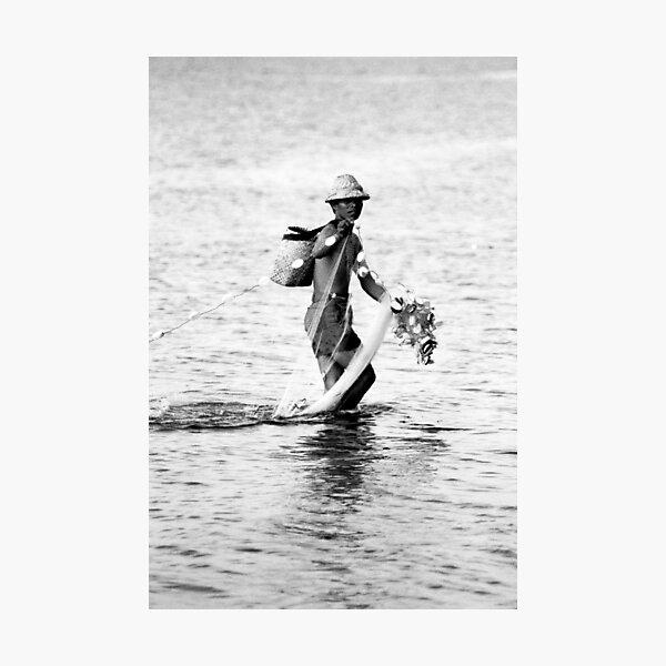 Balinese Fisherman Photographic Print