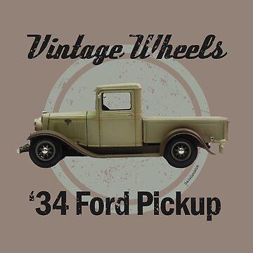 Vintage Wheels - '34 Ford Pickup by DaJellah