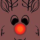 Rudolph the red nosed Reindeer von flussfuchs