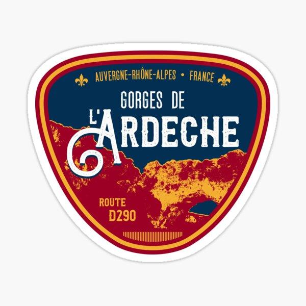 Gorges de Ardeche France T-Shirt + Sticker Sticker