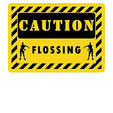 caution flossing kids  by chardo55