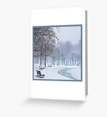 The Calm in the Heart of the Storm Greeting Card