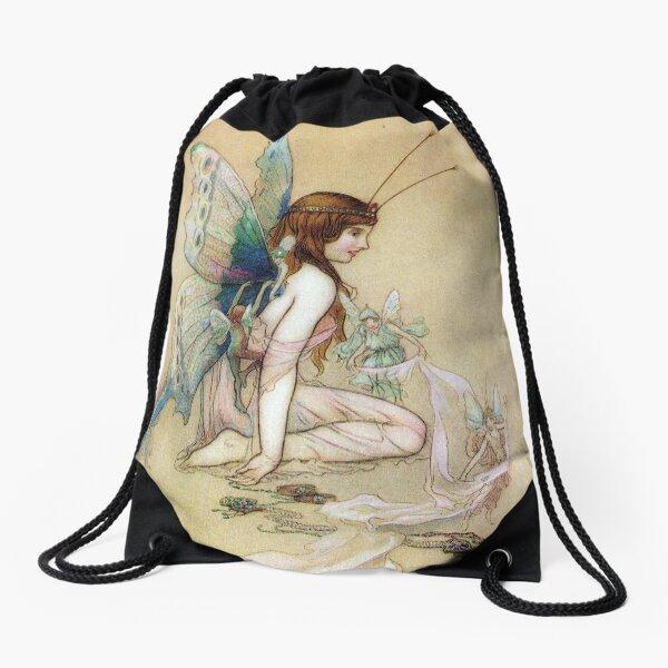 Ellie Gets Her Wings - Warwick Goble Drawstring Bag