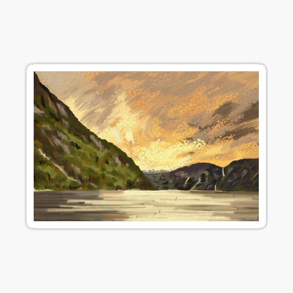 Norway land Sticker