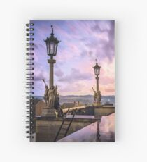 View from Capitol in Nashville, Tennessee, during the Civil War 1864 Spiral Notebook