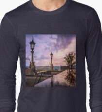 View from Capitol in Nashville, Tennessee, during the Civil War 1864 Long Sleeve T-Shirt