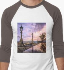 View from Capitol in Nashville, Tennessee, during the Civil War 1864 Men's Baseball ¾ T-Shirt