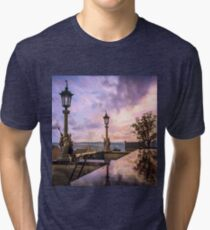 View from Capitol in Nashville, Tennessee, during the Civil War 1864 Tri-blend T-Shirt
