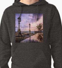 View from Capitol in Nashville, Tennessee, during the Civil War 1864 Pullover Hoodie