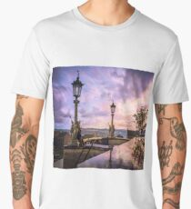 View from Capitol in Nashville, Tennessee, during the Civil War 1864 Men's Premium T-Shirt