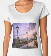 View from Capitol in Nashville, Tennessee, during the Civil War 1864 Premium Scoop T-Shirt