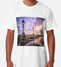 View from Capitol in Nashville, Tennessee, during the Civil War 1864 Long T-Shirt
