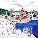 Charles Bridge, Prague, Czech Republic. 5/8 Urban Tableau by Urban-Tableau