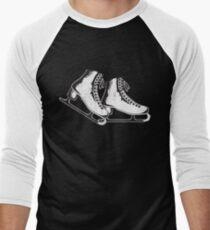Ice skates Men's Baseball ¾ T-Shirt