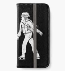 Ice skater  iPhone Wallet/Case/Skin