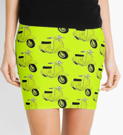 Scooter T-shirts Art: J50 Deluxe Scooter Design Mini Skirt
