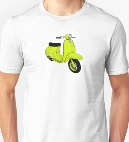 Scooter T-shirts Art: J50 Deluxe Scooter Design T-Shirt