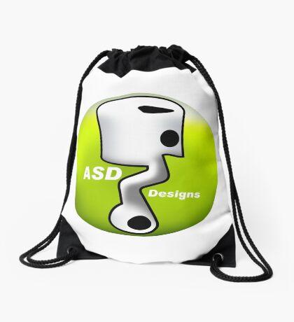 ASD Lime color Drawstring Bag