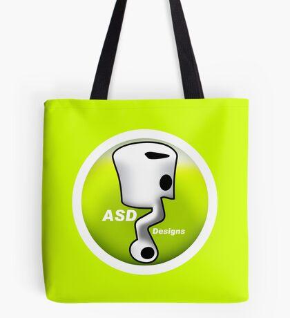 ASD Lime color Tote Bag